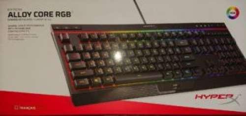 HyperX – Clavier Alloy Core RGB : un clavier à membrane qui pèse lourd !