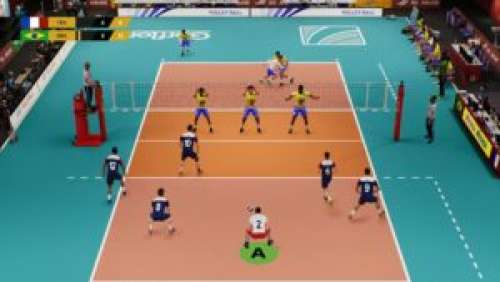 Spike Volleyball – La première simulation de volley-ball