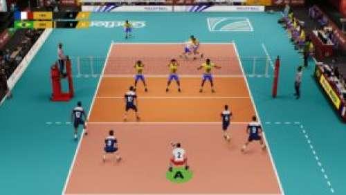 Spike Volleyball – La première simulation de volley-ball