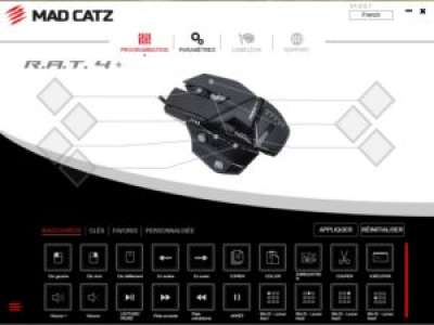 Mad Catz R.A.T 4+ – La souris mène la danse