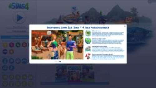 Les Sims 4 – Aperçu du pack d'extension «Îles paradisiaques»