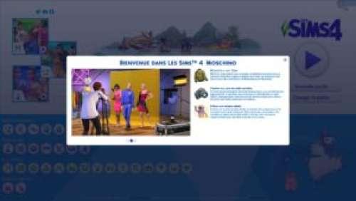 Les Sims 4 – Aperçu du kit d'objets Moschino