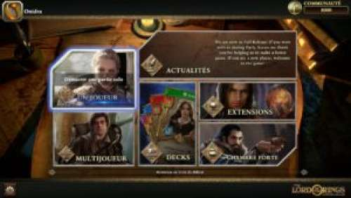 The Lord of the Rings: Adventure Card Game – Un TCG purement narratif