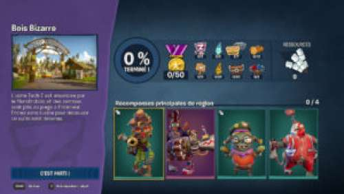 Plants vs. Zombies : La Bataille de Neighborville – Le Bois Bizarre