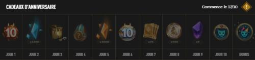 De multiples annonces pour les 10 ans de League of Legends