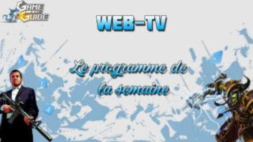 Web-TV – Programme de la semaine (11/11)