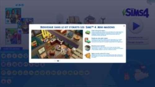 Les Sims 4 – Aperçu du kit d'objets Mini-Maisons