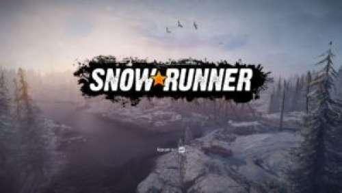 SnowRunner – De la boue (et de la neige) plein les roues !