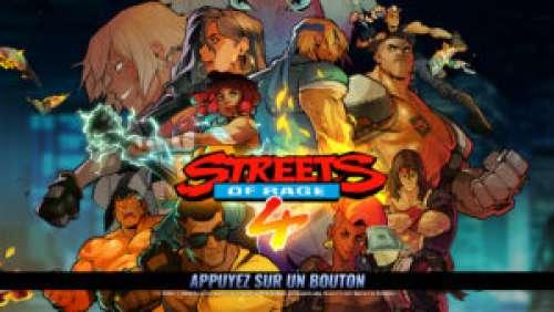 Streets of Rage 4 – Le retour du roi de la castagne
