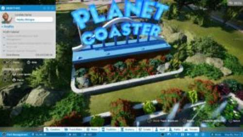Frontier Showcase – Planet Coaster Console Edition