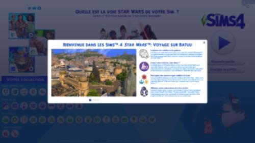 Les Sims 4 – Aperçu du pack de jeu «Voyage sur Batuu»