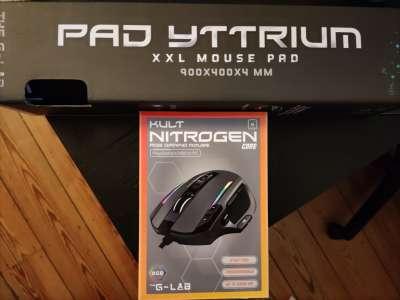 The G-Lab – Souris Kult Nitrogen et tapis Yttrium