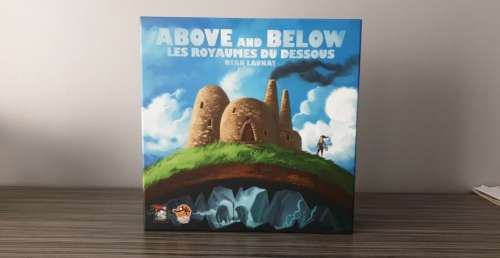 Placard Ludique – Above and Below : Les Royaumes du Dessous