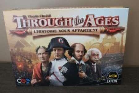 Placard Ludique – Through the Ages: L'Histoire vous appartient