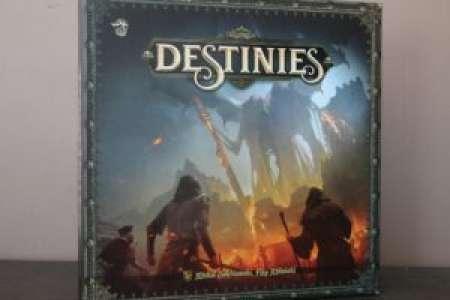 Placard Ludique – Time Of Legends : Destinies