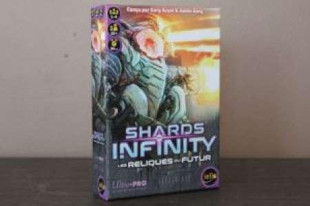 Placard Ludique – Shards of Infinity : Les Reliques du Futur