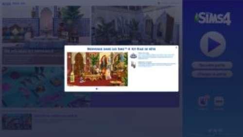 Les Sims 4 – Nouveau kit : Riad de rêve