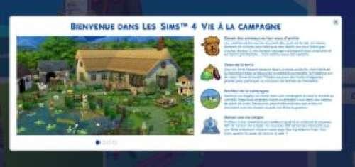 Les Sims 4 – Pack d'extension «Vie à la campagne»