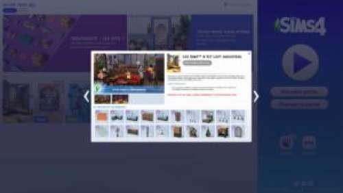 Les Sims 4 – Kit «Loft Industriel»