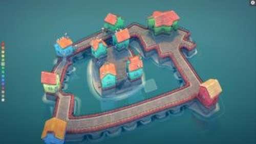 Townscaper – Des villes fantastiques