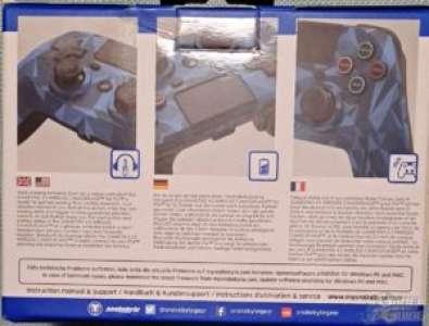 Manette Game:Pad 4 S Wireless de Snakebyte – Jagan non inclus