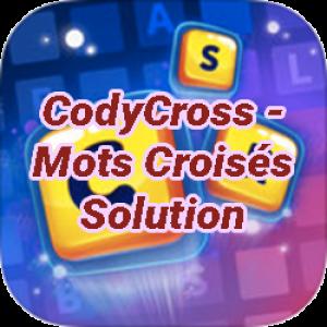 CodyCross – Mots Croisés Solution