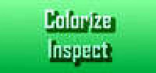 Colorize Inspecting