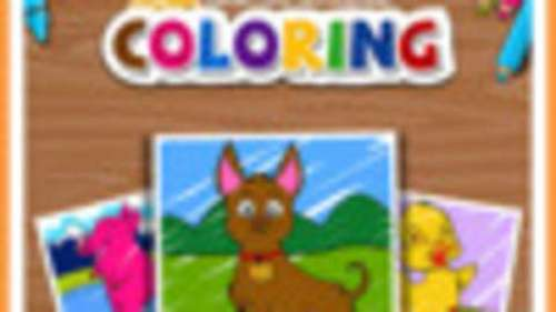 KIDS: FARM COLORING