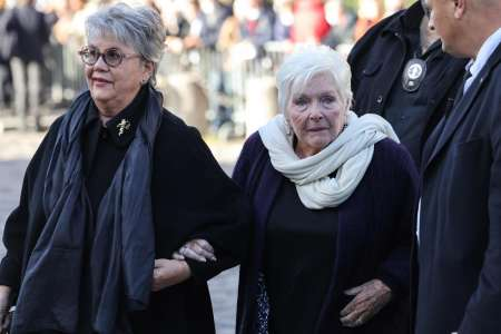 Line Renaud, Michel Drucker, Brigitte Macron... Ils rendent un dernier hommage à Bernard Tapie