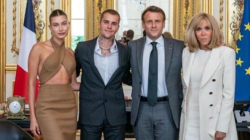Au lendemain des régionales, Emmanuel Macron reçoit Justin Bieber à l'Élysée