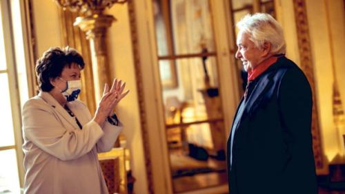 Cas contact de Roselyne Bachelot, Michel Sardou testé négatif au coronavirus