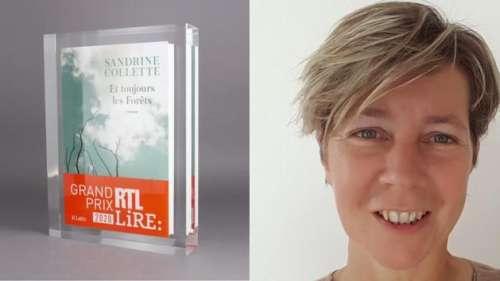 Le grand prix RTL-Lire décerné à Sandrine Collette pour Et toujours les forêts