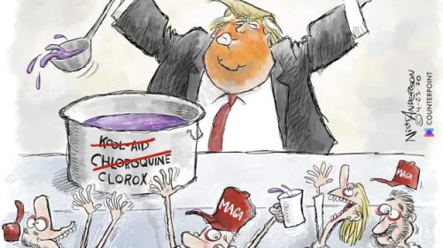 L'équipe de campagne de Donald Trump tente de faire censurer un caricaturiste