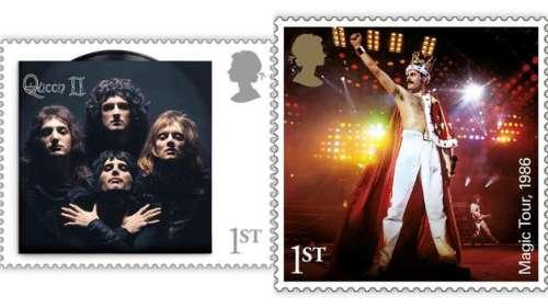 Don't post me now : Queen et Freddie Mercury bientôt sacrés sur les timbres anglais