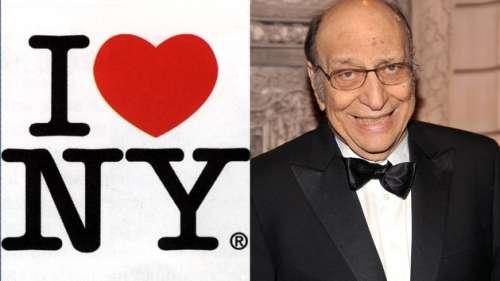 Disparition de Milton Glaser, concepteur du célébrissime «I Love New York»