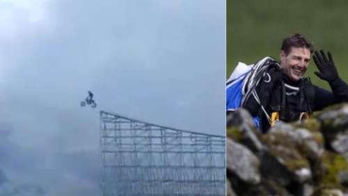 L'incroyable cascade motorisée de Tom Cruise sur le tournage de Mission : Impossible 7
