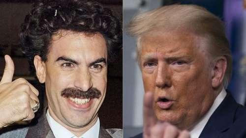 Sacha Baron Cohen répond à Donald Trump: «Je ne vous trouve pas drôle non plus»