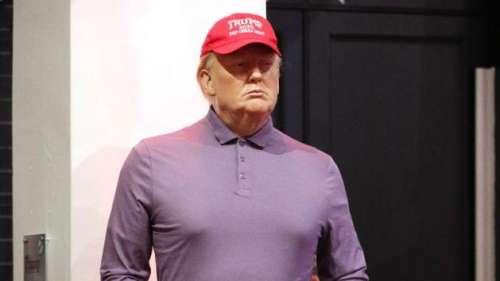 Le musée Madame Tussauds rhabille Donald Trump en... golfeur !