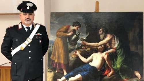 Un tableau de Nicolas Poussin, volé en France par les nazis, retrouvé en Italie