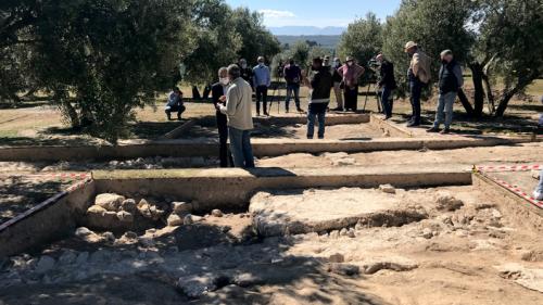 Une somptueuse demeure romaine, au cœur d'une riche propriété, refait surface en Andalousie