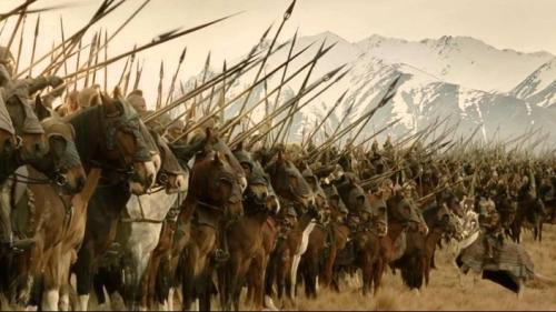 Un dessin animé japonais inspiré du Seigneur des Anneaux et de ses cavaliers du Rohan