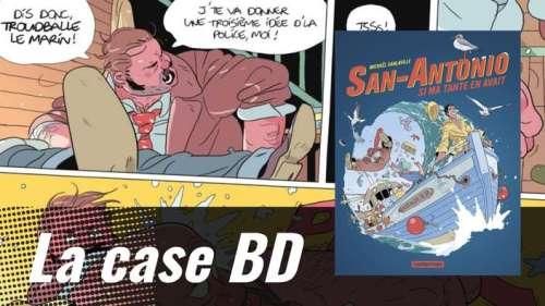 Michaël Sanlaville prête la beauté d'Alain Delon à San-Antonio