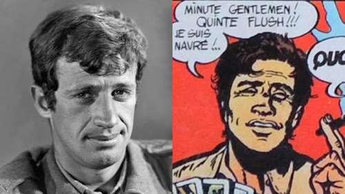 Tintin, Blueberry, Lupin III, Cobra... quand Jean-Paul Belmondo inspire la bande dessinée
