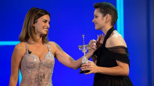 Marion Cotillard récompensée d'un prix pour l'ensemble de sa carrière