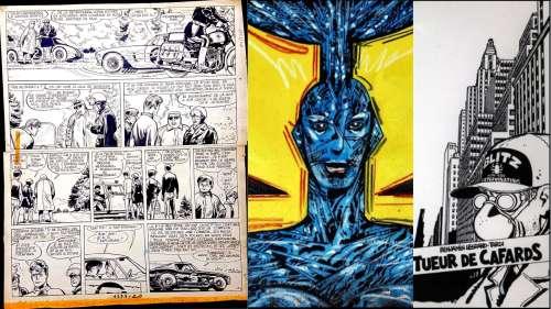 Tardi, Druillet, mangas... Des pépites de la bande dessinée en vente sur la Toile