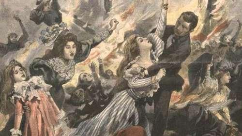 Le Tout-Paris en deuil après l'incendie du Bazar de la Charité en 1897