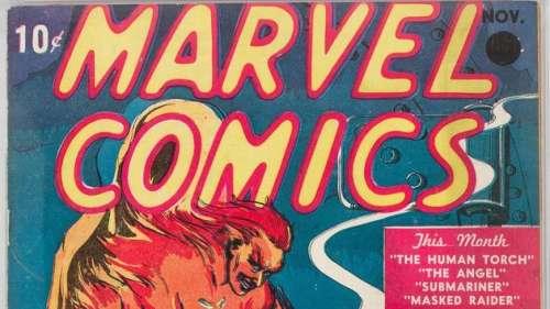 Un exemplaire du tout premier comic Marvel bat tous les records aux enchères