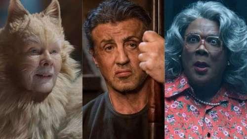 Cats, Rambo et Tyler Perry... Les pires films et acteurs nommés aux Razzie Awards 2020