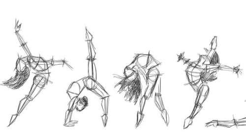 Dessiner la danse