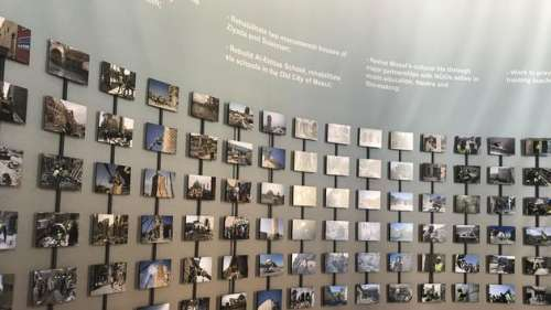 Mossoul inaugure sa reconstruction à la Biennale de Venise